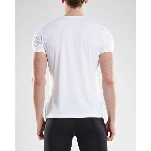 Craft Essential Shortsleeve Shirt heren wit