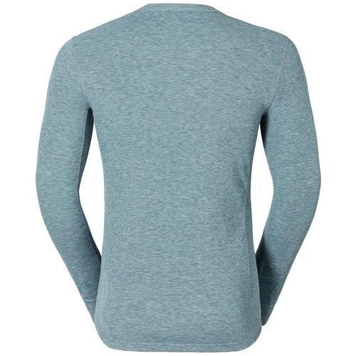 Odlo Original Warm Shirt Lange mouw heren grijs