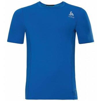 Odlo Ceramicool Pro Korte Mouw shirt heren blauw