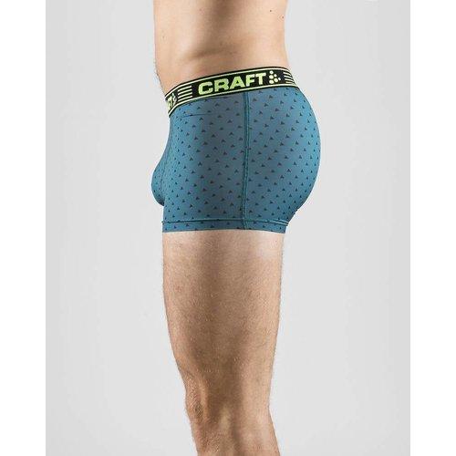 """Craft Craft  Greatness Boxer 3""""Inch heren groen/print"""