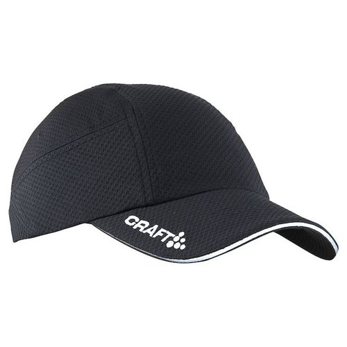 Craft Running Cap zwart