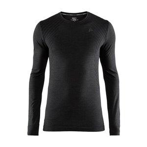 Craft Fuseknit Comfort Lange Mouw Shirt heren zwart