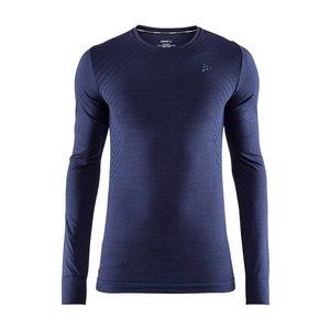 Craft Fuseknit Comfort Lange Mouw Shirt heren blauw