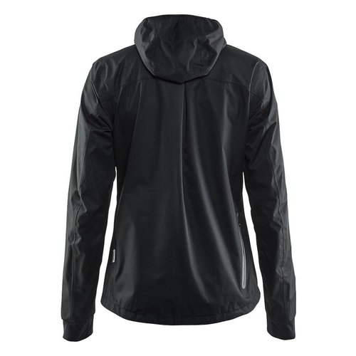 Craft Ride Rain Jacket dames zwart