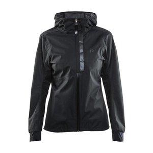Craft Ride Rain Jacket dames zwart