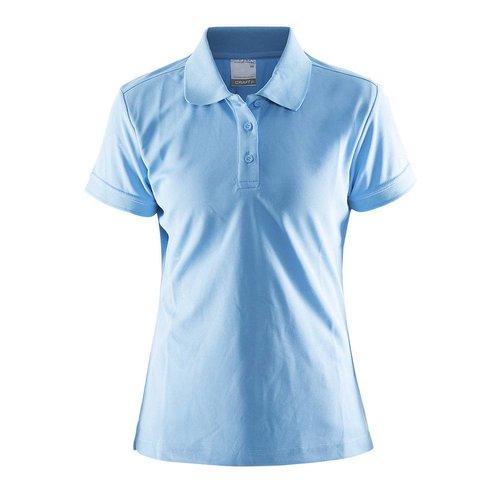 Craft Craft Polo Pique dames licht blauw