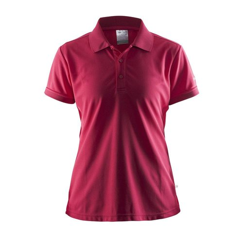 Craft Polo Pique dames, Russian Rose