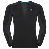 Odlo Performance Warm  Shirt  heren zwart