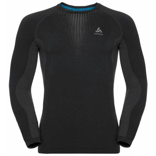 Odlo Performance Warm  Shirt  heren zwart op=op
