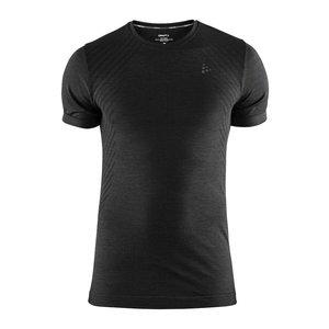 Craft Fuseknit Comfort Korte Mouw shirt heren zwart