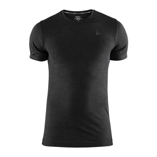 Craft Craft Fuseknit Comfort Korte Mouw shirt heren zwart