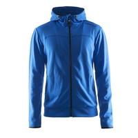 Craft Leisure Hood Full Zip vest heren blauw