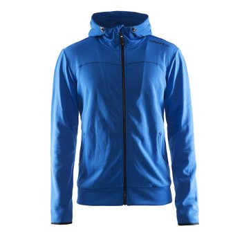 Craft Leisure Hood Full Zip vest heren  blauw