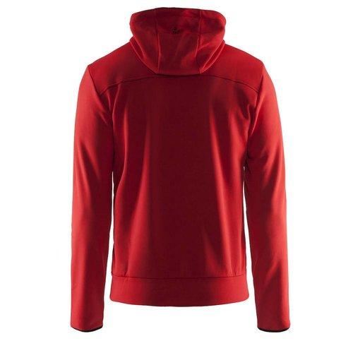 Craft Craft Leisure Hood Full Zip vest heren  rood