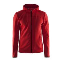 Craft Leisure Hood Full Zip vest heren  rood