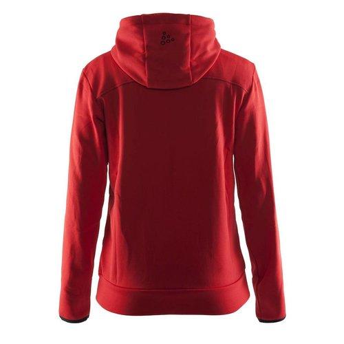 Craft Craft Leisure Hood Full Zip vest dames rood