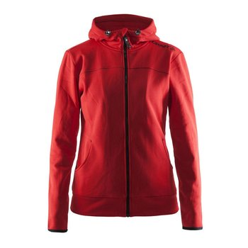 Craft Leisure Hood Full Zip vest dames rood