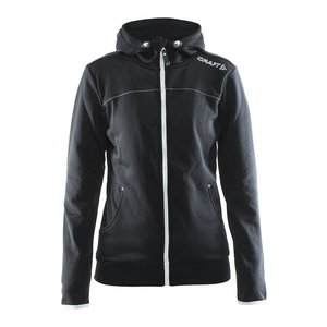 Craft Leisure Hood Full Zip vest dames zwart