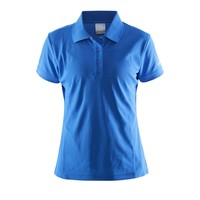 Craft Polo Pique dames blauw