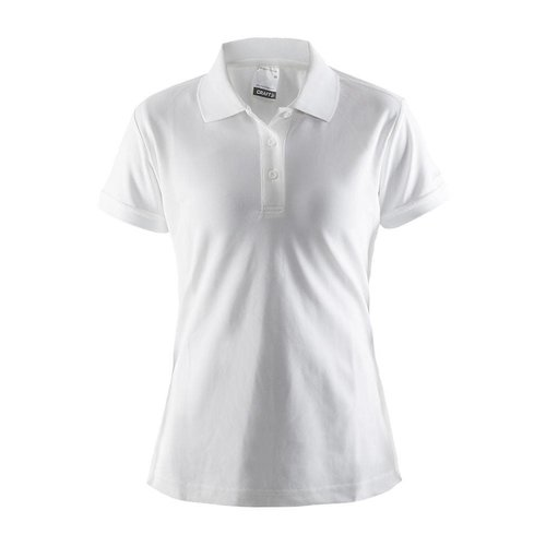 Craft Craft Polo Pique dames wit