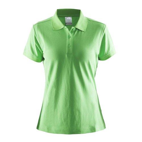 Craft Polo Pique dames groen