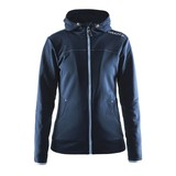 Craft Leisure Hood Full Zip vest dames blauw