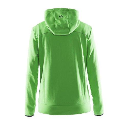 Craft Craft Leisure Hood Full Zip vest dames groen