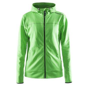 Craft Leisure Hood Full Zip vest dames groen