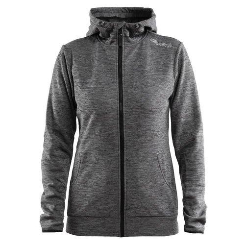 Craft Craft Leisure Hood Full Zip vest dames grijs
