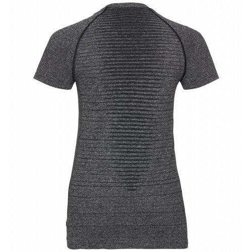 Odlo Odlo hardloopshirt, Core Seamless Light Shirt, grijs melange, dames