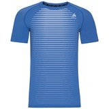 Odlo Ceramicool Pro X-Light Korte Mouw shirt heren blauw