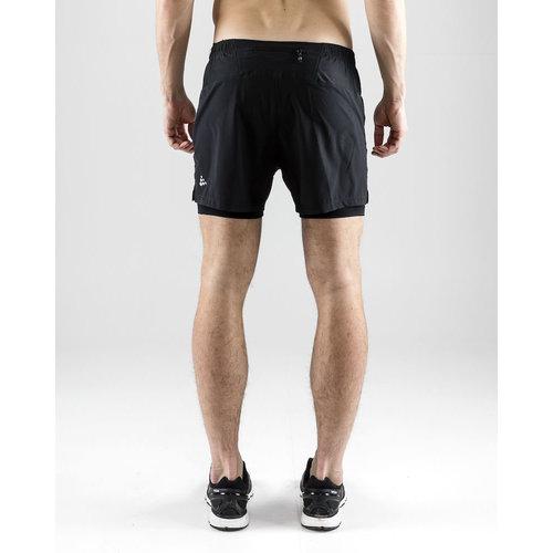 Craft Craft Essential 2-in-1 Shorts heren zwart