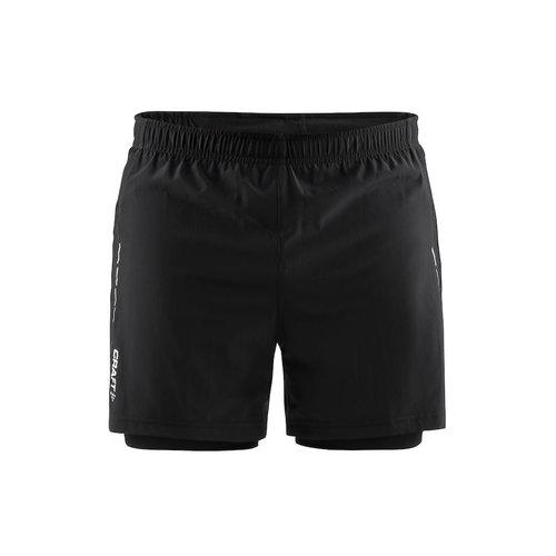Craft Essential 2-in-1 Shorts heren zwart