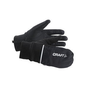 Craft Hybrid Weather Glove Handschoen zwart