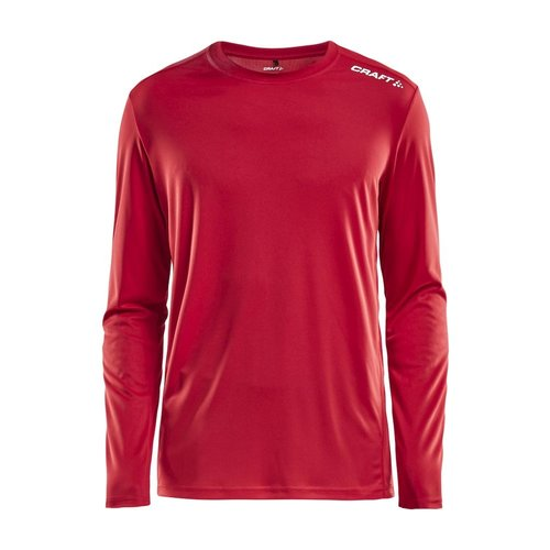 Craft Rush LS Tee heren  Bright Red