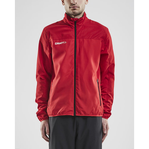 Craft Rush Wind Jacket, heren, Bright Red