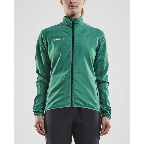 Craft Rush Wind Jacket, dames, Team Green