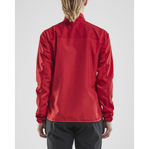 Craft Rush Wind Jacket, dames, Bright Red