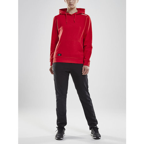 Craft Community Hoodie, dames, Bright Red