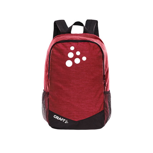 Craft Squad Practise Backpack, Bright Red