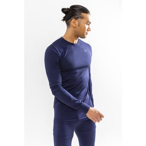 Craft Craft Fuseknit Comfort Lange Mouw Shirt heren blauw
