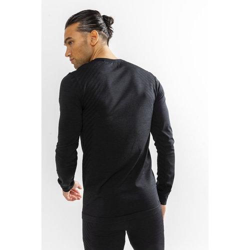 Craft Craft Fuseknit Comfort Lange Mouw Shirt heren zwart