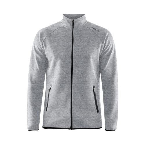 Craft Emotion Full Zip jacket Men - grijs