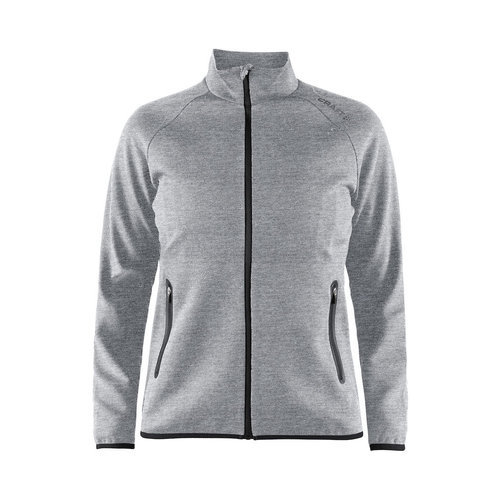 Emotion Full Zip jacket W, grijs