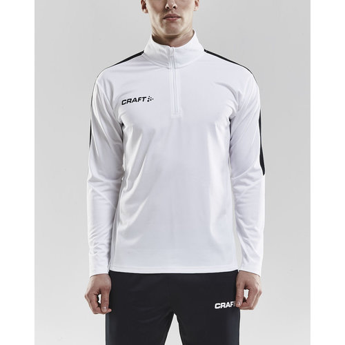 Progress Halfzip Jersey, heren, White