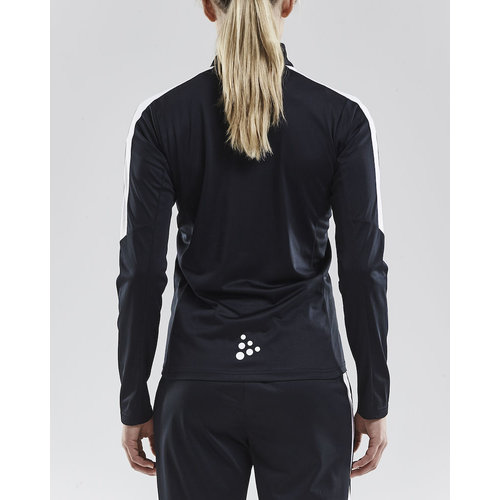 Progress Halfzip Jersey, dames, black/white