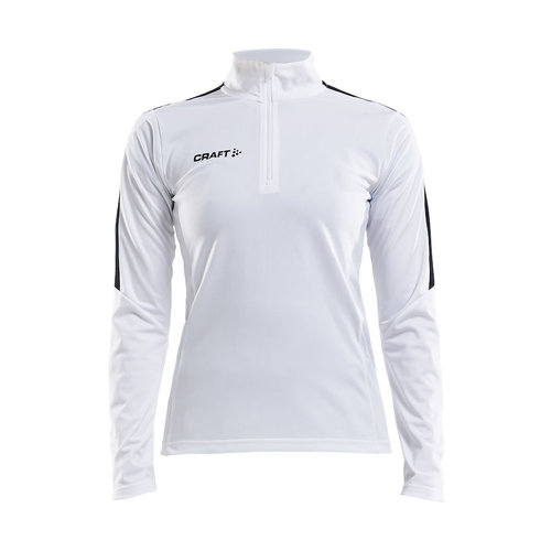 Progress Halfzip Jersey, dames, White