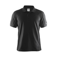 Craft Polo Pique Classic, heren, zwart
