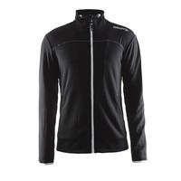 Craft Leisure Jacket Full Zip heren black