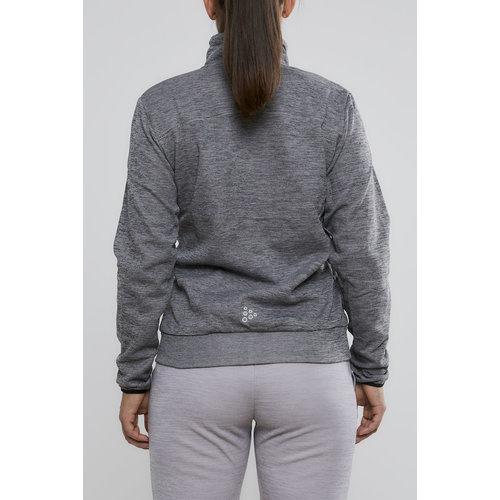 Craft Craft Leisure Jacket Full Zip dames Dark Grey Melange